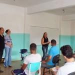Reeducandos participam de aula comemorativa dentro do Programa Boas Contas/TCE