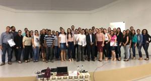 O conselheiro-substituto Omar Pires Dias ministrou a capacitação no município de Jaru