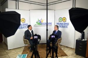 O conselheiro presidente Edilson de Sousa falou sobre o aplicativo Opine Aí ao programa da Arom