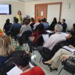 Servidores participam de curso realizado pela Escon/TCE sobre redação oficial e elementos da gramática