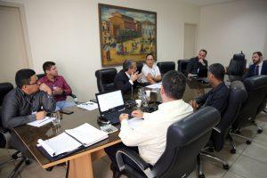 O presidente Edilson de Sousa e gestores de diversas áreas do TCE debateram a proposta de PPA