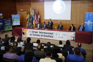 O conselheiro presidente Edilson de Sousa destacou, em seu pronunciamento, os efeitos benéficos da atividade turística para o desenvolvimento de Rondônia