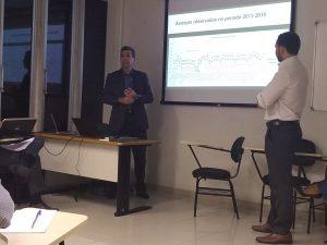 Os auditores de controle externo Francisco Vágner e Manoel Neto apresentaram os resultados preliminares da auditoria nas UCs de Rondônia