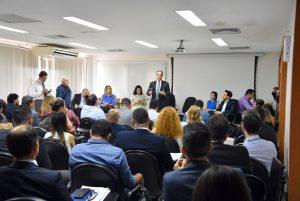 O conselheiro presidente Edilson de Sousa considerou salutar a disposição de todos os envolvidos para debater as questões referentes ao TAG