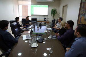Representantes de instituições públicas que integram a Ecoliga se reuniram na sede do TCE-RO